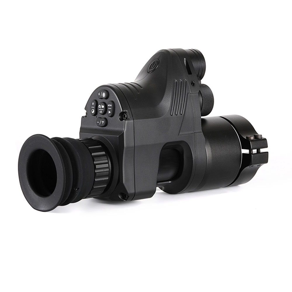 Free Shipping PARD NV007 200m Infrared Night Vision Telescope Hunting Night Vision Set Sight Digital IR Monocular Rifle scope-in Hunting Cameras from Sports & Entertainment