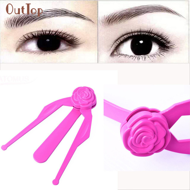 OutTop 1PC Professional Miniature Training Permanent Makeup Eyebrows Forming Mold Eyebrows Pretty Eyebrow Stencils