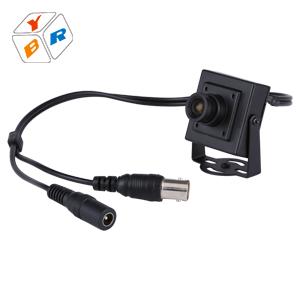 2016 Barato Mini Vigilancia 650TVL Cmos de Vídeo Cctv Analógico Cámara Micro 3.6mm Lente Del Agujero de Alfiler Cámara Monitor de la Seguridad Casera de Interior