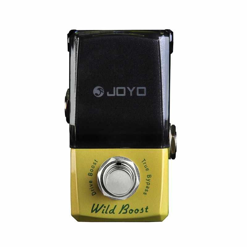 JOYO JF-302 Wilden Boost Mini Gitarre Effekt Pedal Prozessor Gain Stick Boost True Bypass Effekte Gitarre Pedal Gitarre Zubehör