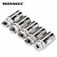 Originale 5pcs WISMEC Tripla Testa 0.2ohm Bobine per WISMEC Amor Mini/Plus/Vicino/D30/Reux mini, elabo/Mini/SW/Divisore Atomizzatore
