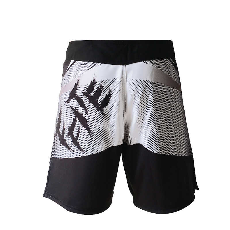 MMA قصيرة الرجال التدريب السراويل جذوع الملاكمة التايلاندية boxe كيك بوكسينغ ساندا السراويل السراويل القتال