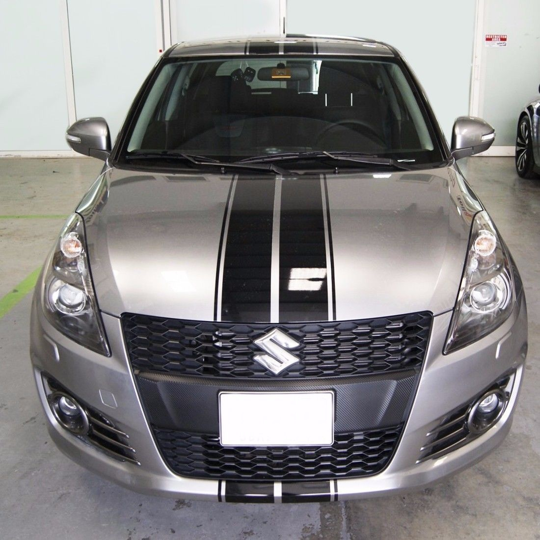 For sticker decal graphic stripe body kit for suzuki swift s bumper lamp front rear car styling for hood roof truck