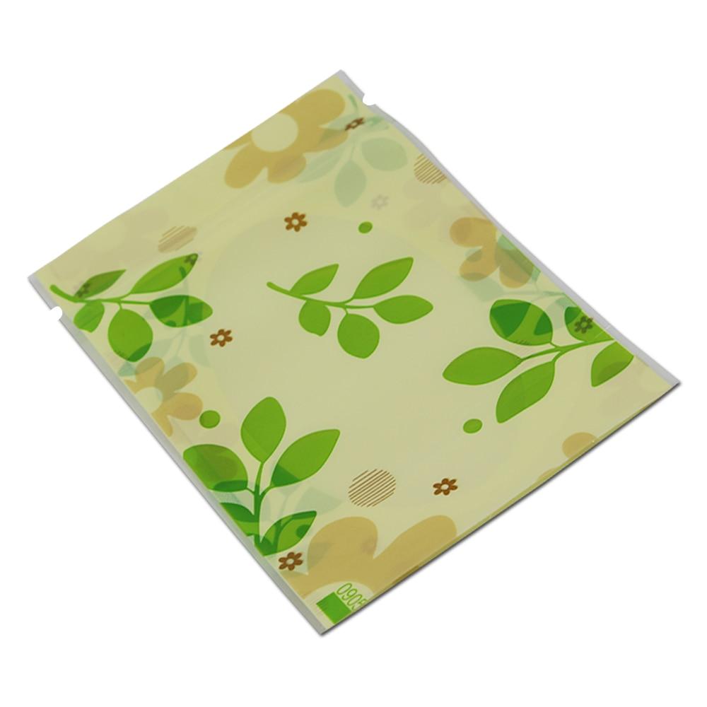 10 * 15cm 50Pcs / Lot Clear Plastična zelena listeljka Stand Up - Organizacija i skladištenje u kući - Foto 4