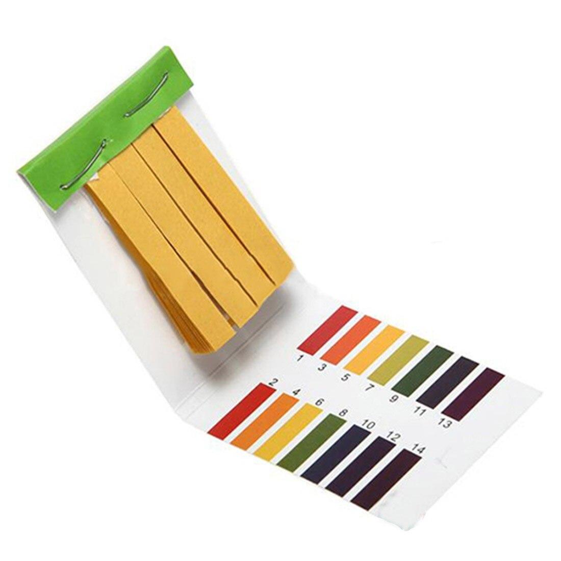 Measuring Tool 80 Strips/pack pH test strips PH Meter PH Controller Range 1-14st Indicator Litmus Paper Water Soilsting Kit цены
