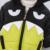 KEAIYOUHUO 2017 Outerwear Casaco de Inverno Meninos Crianças Roupas de Manga Longa Jaqueta de Roupas de Algodão Com Capuz Para Baixo Casaco Dos Desenhos Animados Grandes Olhos