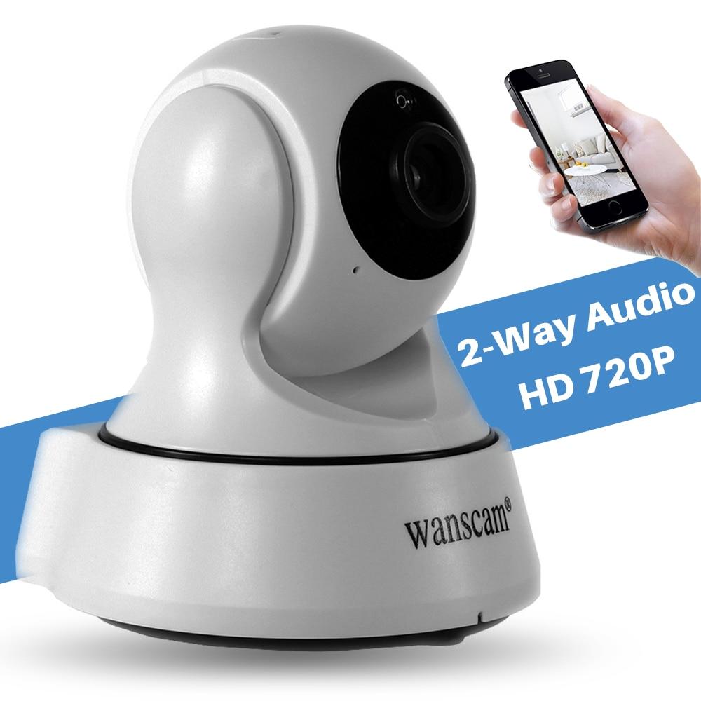 Wanscam Mini Smart P2P Wireless CCTV Security Surveillance 1MP 720P Wifi IP Camera Pan/Tilt 2 Way Audio IR Night Vision Monitor