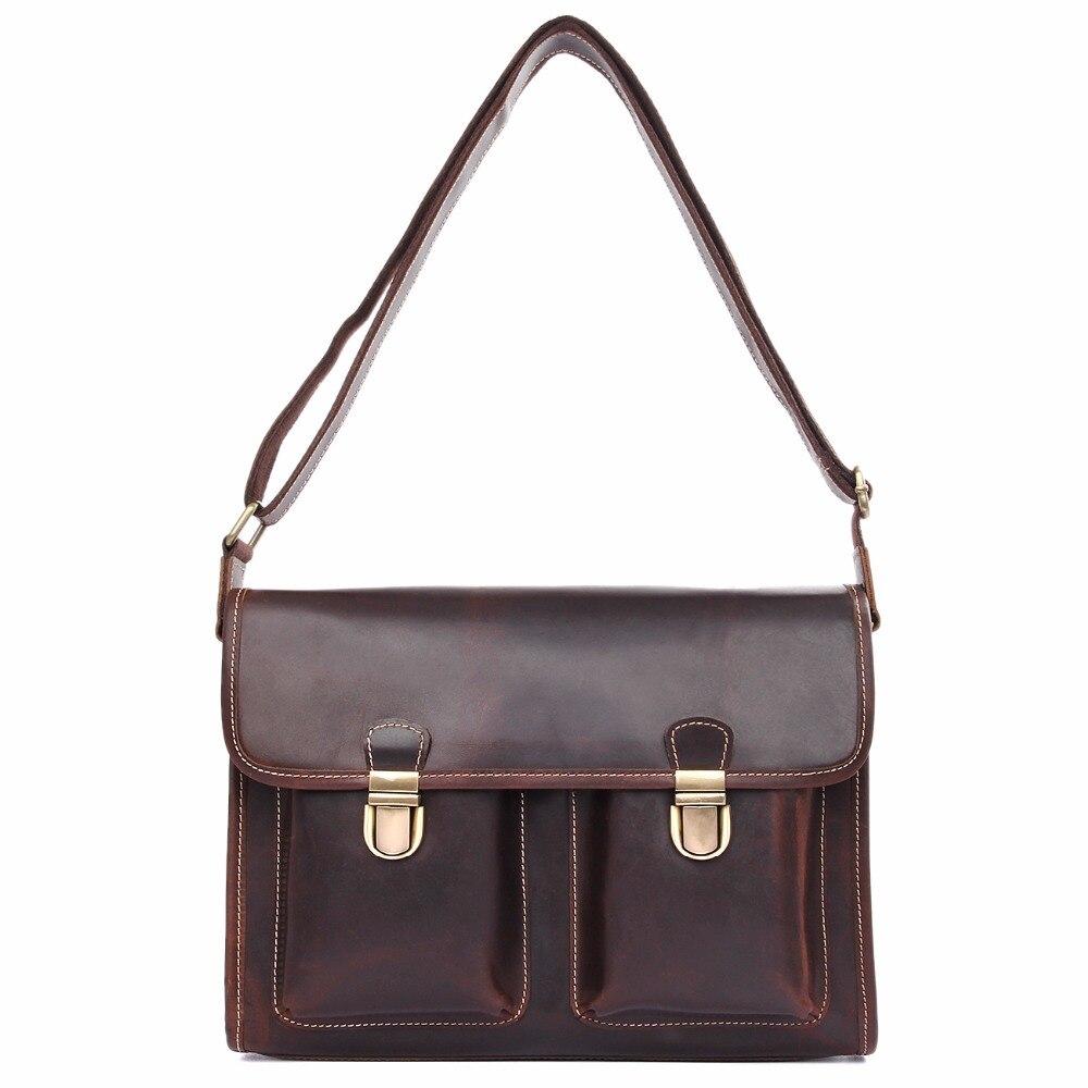 J.M.D J.M.D Tiny Darrk Brown Flap Bag Fits Cell Phone Wallets Glasses High Quality Cow Leather Sling Bag Messenger Bag 1021C chanel boy flap bag