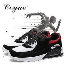 2019 Ceyue легкие кроссовки Мужские дышащие спортивные для бега обувь для прогулки воздушная подушка для бега Zapatos de hombre Размер 36-47