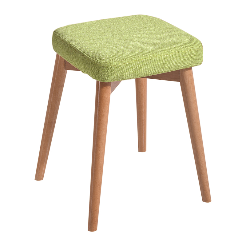 Modern Simple Cloth Surface Stool Household Washable Dressing Stool Stable Makeup Seat Anti-slip Dining Chair Without BackrestModern Simple Cloth Surface Stool Household Washable Dressing Stool Stable Makeup Seat Anti-slip Dining Chair Without Backrest