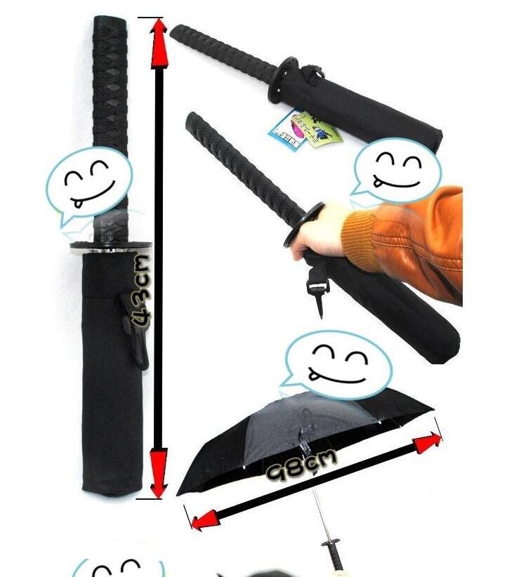Hochwertige japanische Ninja Samurai Katana Schwert Regenschirm - Haushaltswaren - Foto 4