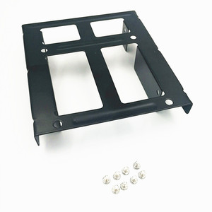 Image 5 - Dual SSD HDD Mounting Bracket 3.5 to 2.5  Internal Hard Disk Drive Kit Cables 2.5 hard disk drive to 3.5 bay tray caddy