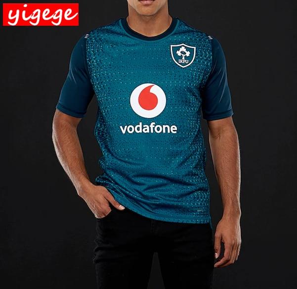 d562db5d76ba2 Best Quality Ireland IRFU jersey 2019 home and away rugby Jerseys shirts  Irish League rugby shirt s-3xl