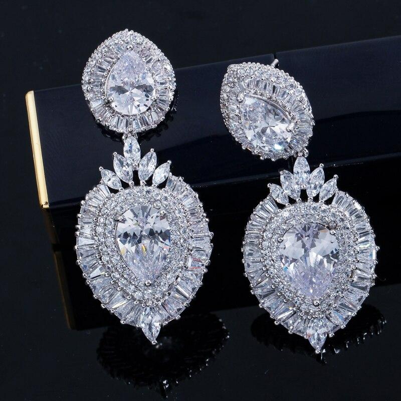 Double Waterdrop Earring-AE166