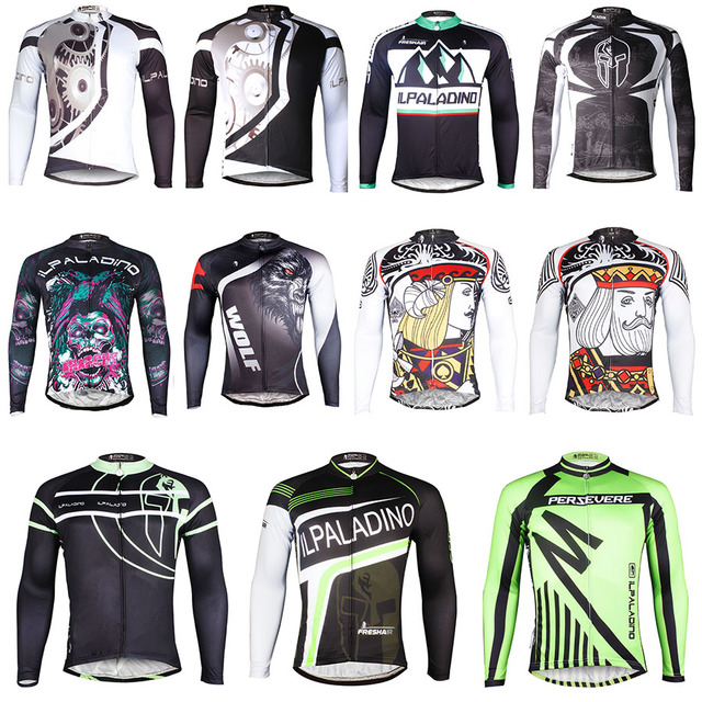 b0d17a83f7c GZDL Autumn Winter Men Long Sleeve Cycling Racing Jersey Shirts Team Jackets  Bicycle Bicicleta Sportswear Clothing Tops MTB9398