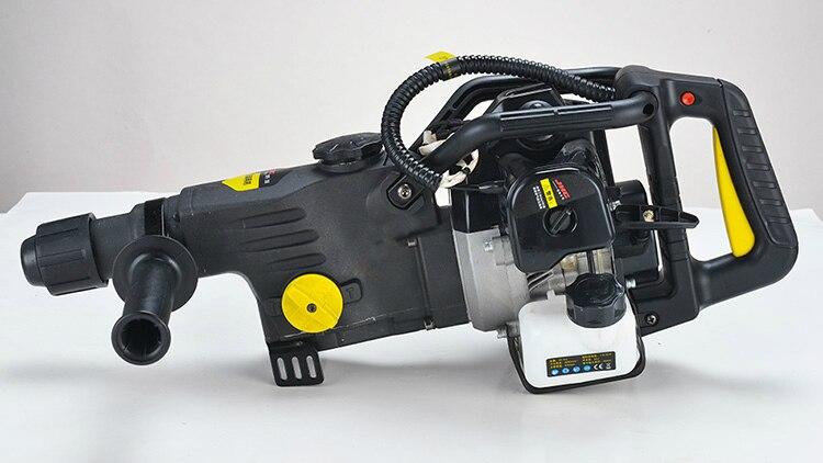 Benzyna wiertarka udarowa podwójnego zastosowania Gsoline młot elektryczny młotek i Pick benzyna wiertarka benzyna młotek i narzędzia Pick