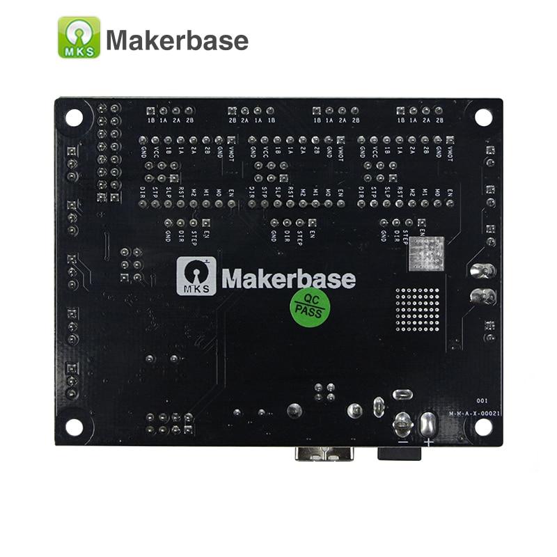 Makerbase CNC Shield controller mother board MKS DLC GRBL engraving laser  control board DIY CNC USB 3 axis stepper motor driver