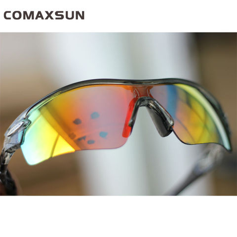 COMAXSUN Professional Polarized Cycling Glasses Bike Goggles  Sports Bicycle Sunglasses UV 400 With 5 Lens 5 Color Lahore