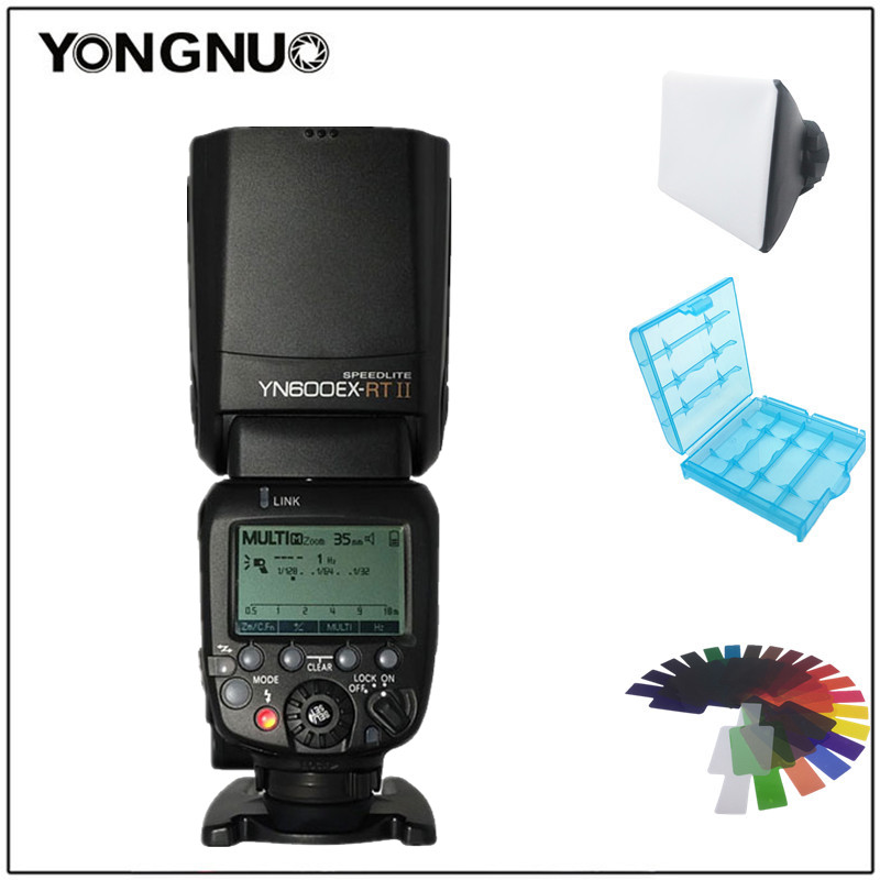 YONGNUO YN600EX-RT II 2.4g Sans Fil HSS Maître TTL Flash Speedlite pour Canon 60D 650D 1000D 1200D 700D 600EX-RT 580EX II