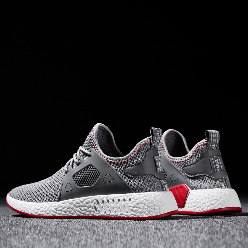 Men Weaving Fly Mesh  Soft sneakers