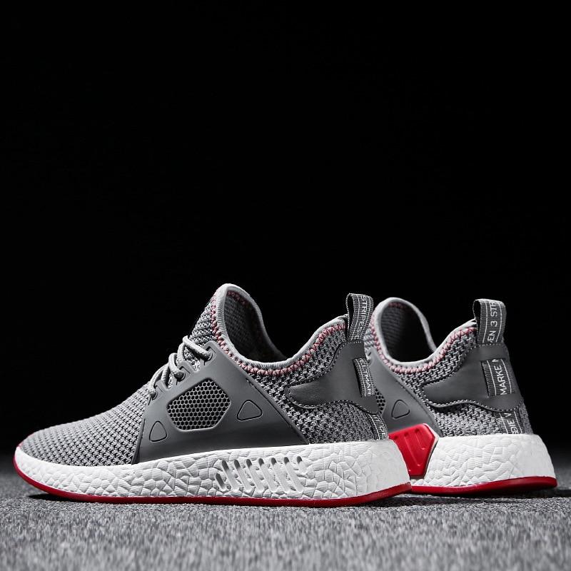 Men Weaving Fly Mesh  Soft sneakers
