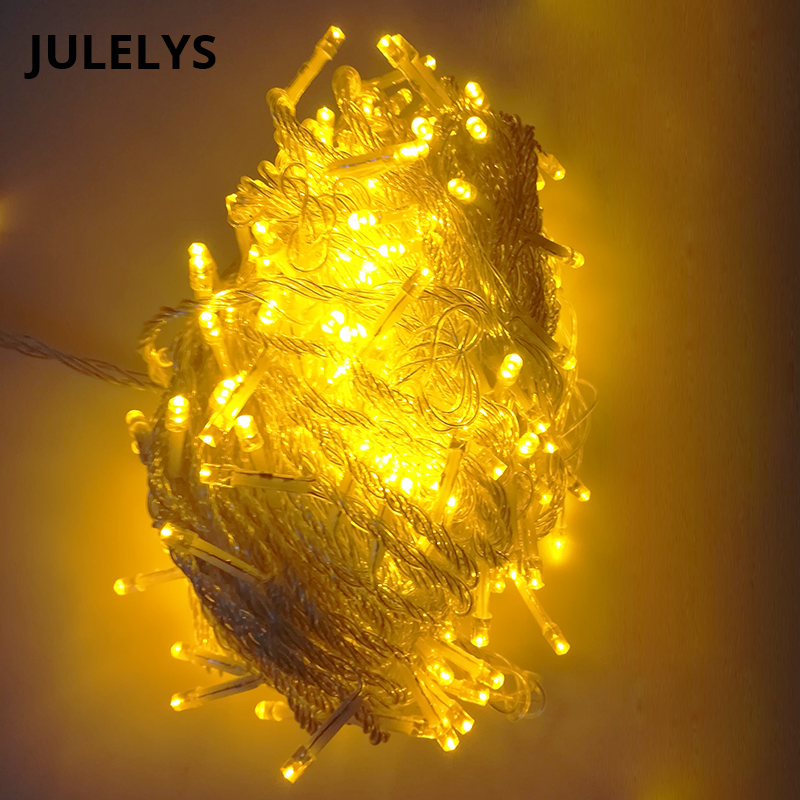 30M 300 Bulbs LED Fairy Lights Decoration Gerlyanda Christmas Garland Window Lights String Party For Wedding Holiday New Year in LED String from Lights Lighting