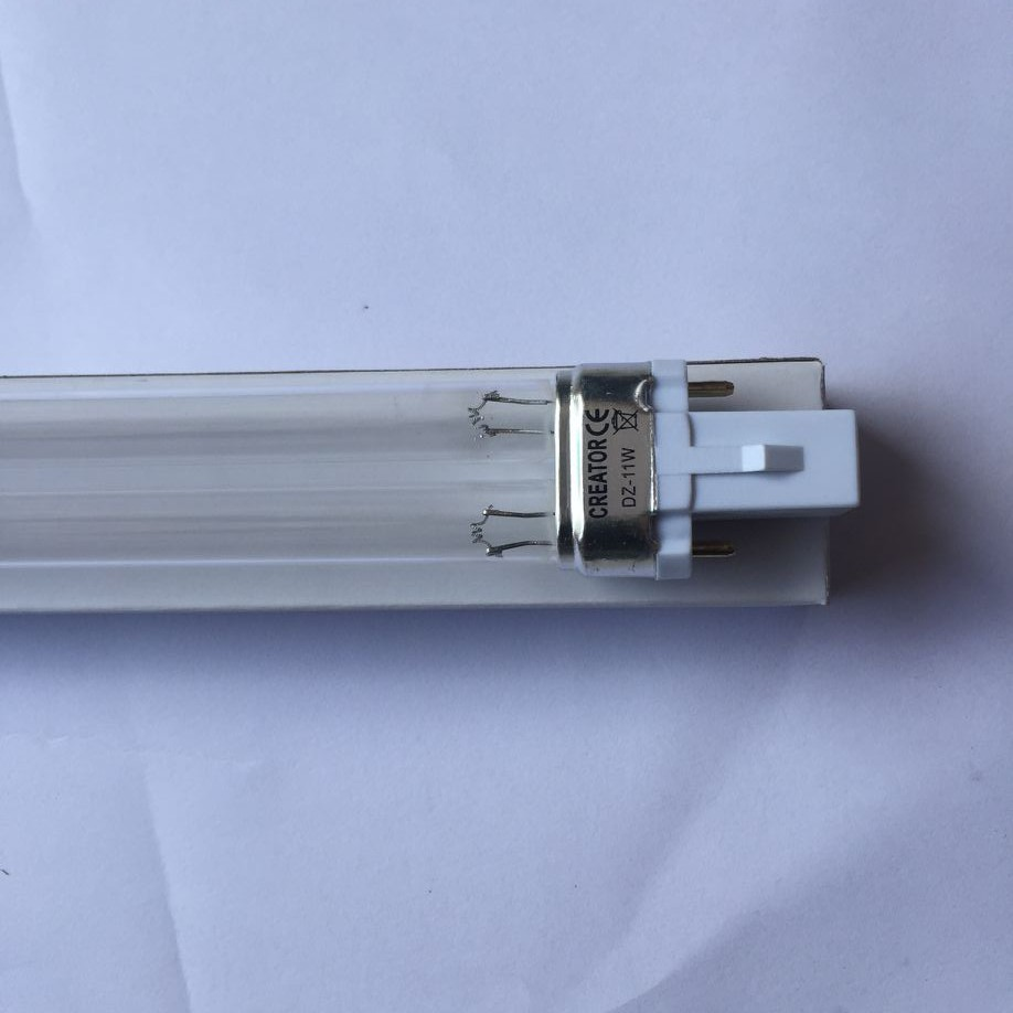 CREATOR UVC 11W germicidal lamp,ultraviolet water air disinfection purification,11W UVC H-shape tube FREE SHIPPING