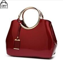 [Newtall] 2017 die neue mode glänzend weibliche tasche lackleder handtasche frauen einzigen schulter pakete zb0170