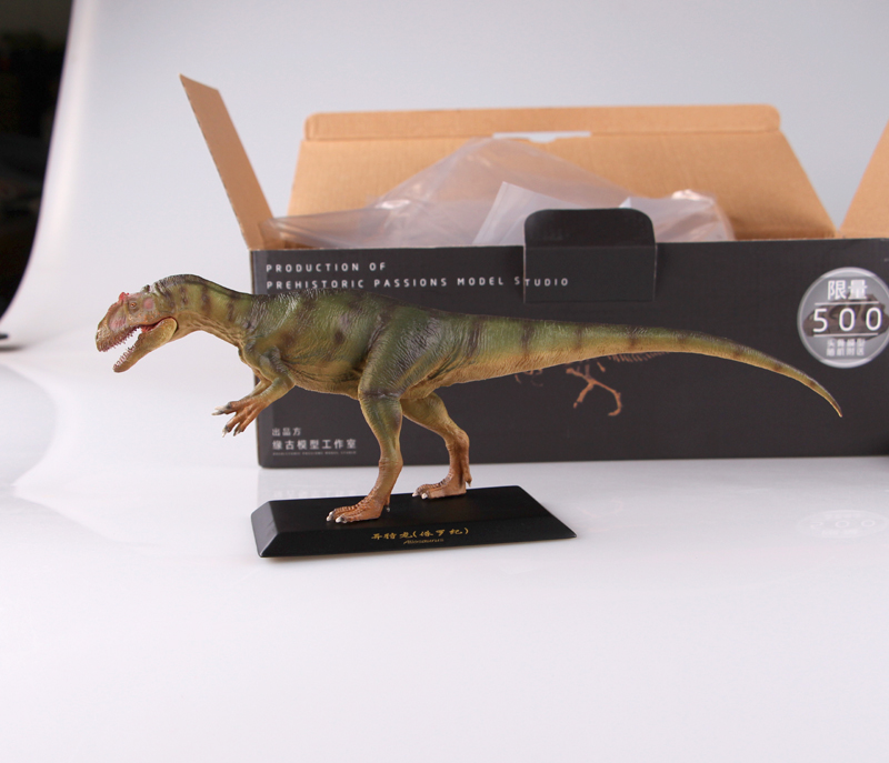 Limited Sales 300 Sets Jurassic World Dinosaur Model Allosaurus Toy Collection 1:35 - 5