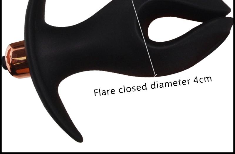 Black wolf electric new soft silicone anal plug SM sex toys open ass plug mirror prostate prosthetic toy Faloimitator female 7