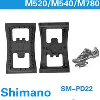 Shimano SM PD22 spd cleat 플랫 페달 m520 m540 m780 m980 clipless pedals|flat pedals|spd cleatpedal pedales -