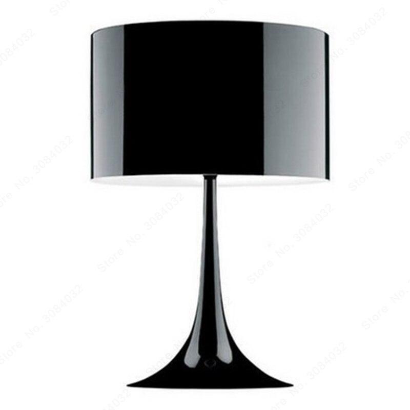 BDBQBL Metal Lampshades Modern Table Lamp Loft Nordic Design Desk Lamp Desktop Study Reading Bedside Home Lighting Abajour T-03