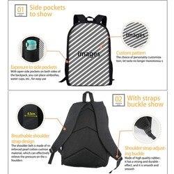 Nopersonality 3D piłki wzór torby szkolne dla chłopców dziewczyny plecak szkolny tornister 16 cal dzieci książka torba zestaw plecak szkolny 3