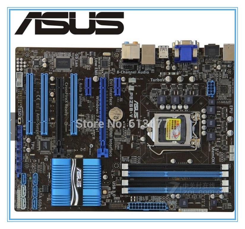 ASUS P8Z68-V LX motherboard DDR3 LGA 1155 mainboard Desktop USB3.0 ATX desktop Motherboard Free shipping все цены