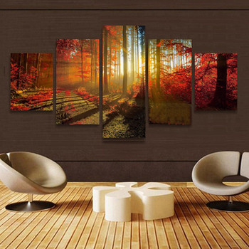Wall Art Drawing Hanging paintings Unframed Modern Art Oil Painting Print Canvas Picture Home Wall Room Decoration
