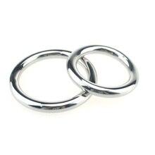 Замок прекрасно кольцо вибрации задержки кольцо для взрослых Секс-игрушки преждевременной эякуляции металлическое кольцо Нержавеющая сталь кольцо Мужской Задержка пениса