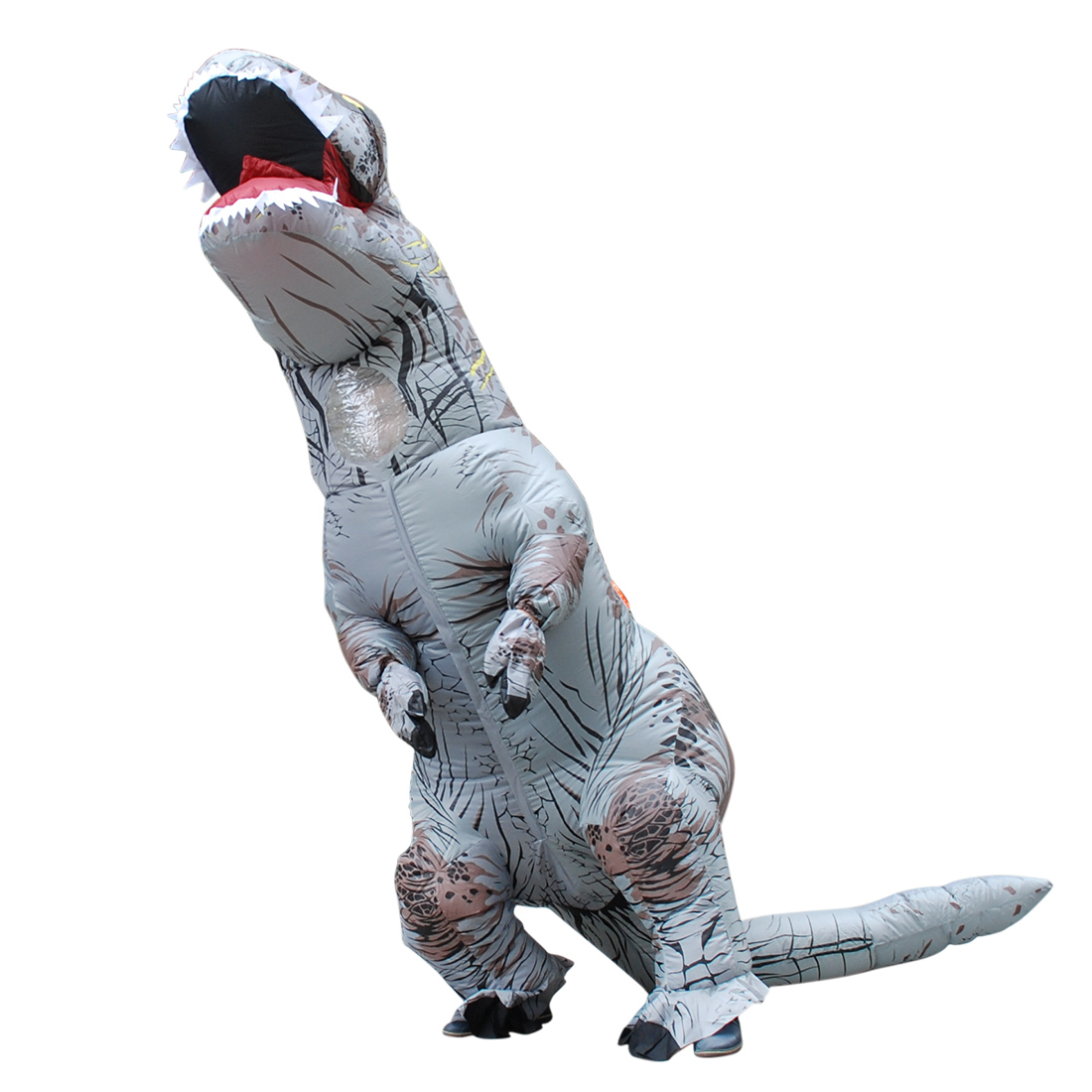 Sexy Woman Cosplay Inflatable Dinosaur Costume - Fan Operated Adult Kids Size Halloween Animal Costumes Dino Rider T-Rex