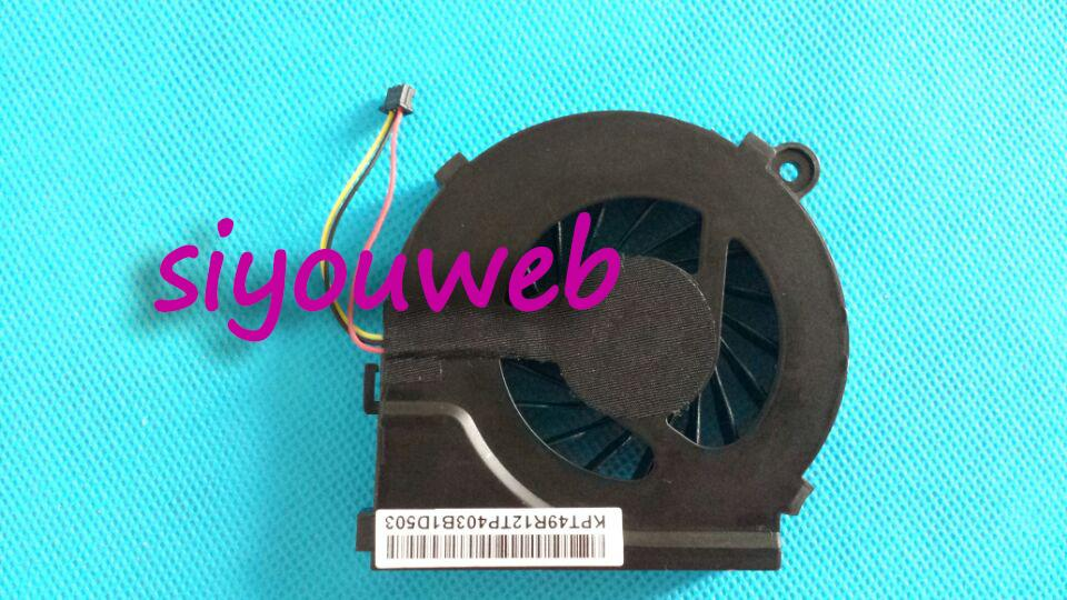 New & Original CPU Cooling Fan for HP Pavilion G6-1D00 Pavilion G6-1b50us Pavilion G7 Series Pavilion G7-1000 Series qqv6 aluminum alloy 11 blade cooling fan for graphics card silver 12cm