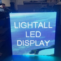 Full color P3.91mm indoor 250x250mm led display module 64x64 dots 3 years warrenty led video panels module