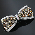 17style rhinestone crystal butterfly hair clips hairpins for women headdress accessories exquisite barrette head headwear B1258