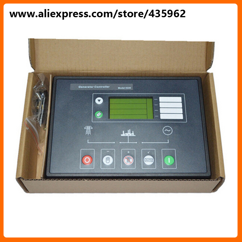 DSE5210 Deep Sea Generator Controller for Diesel Genset high quality spare parts free shipping deep sea generator set controller module p5110 generator control panel replace dse5110