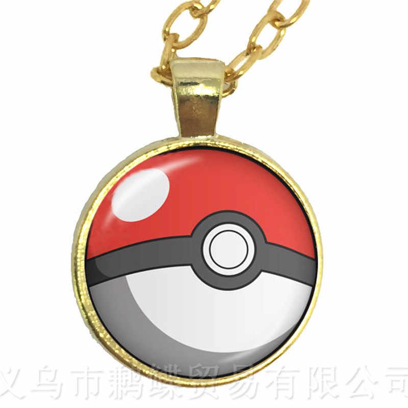 1PC 25MM แก้ว Cabochon รูปแบบ Pokemon สร้อยคอสร้อยคอสร้อยคอสร้อยคอสร้อยคอสร้อยคอสร้อยคอสร้อยคอสร้อยคอสร้อยข้อมือจี้เครื่องประดับสำหรับผู้หญิงของขวัญที่ยอดเยี่ยมโซ่เสื้อกันหนาว