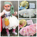 New Princess Clothes Baby Girl Tutu Skirts Kids Cute Ball Cake Skirt Veil Birthday Gift Toddler Ball Gown Party Children Skirts