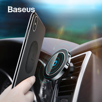 Baseus Fast Car Wireless Charger Magnetic Car Charger Air Vent Car Mount Phone Stand for iPhone X Xs XR 8 Samsung Xiaomi Huawei
