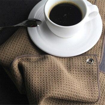 Superfine Fiber Coffee Clean Towel High Fiber Bar Cleaning Cloth Cafe Professional Match Absorbent Coffee Machine Bar Tea Towel