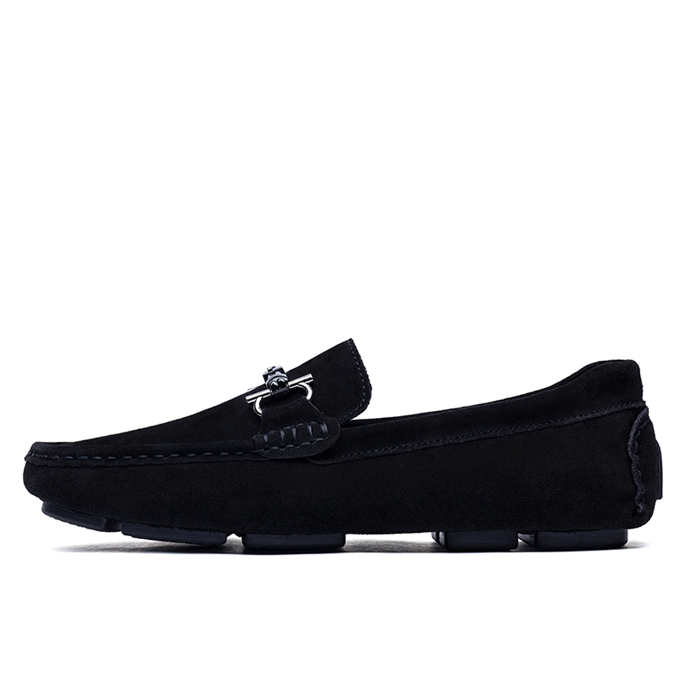 Men Casual Shoes Suede Leather Loafers Slip on Driving Shoes Men Moccasin Boat Shoes Men Shoes Gommino 2018 New new fashion spring summer round toe slip on tassel loafers men moccasin car shoes casual boat shoes