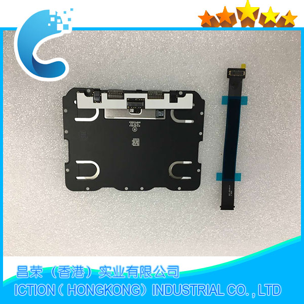 821-00184-A Original Early 2015 EMC 2835 For Macbook Pro 13 Retina A1502 Trackpad Touchpad Touch Pad 2015 Year With Cable new silver for macbook pro retina 15 4 a1707 force touch pad touchpad trackpad