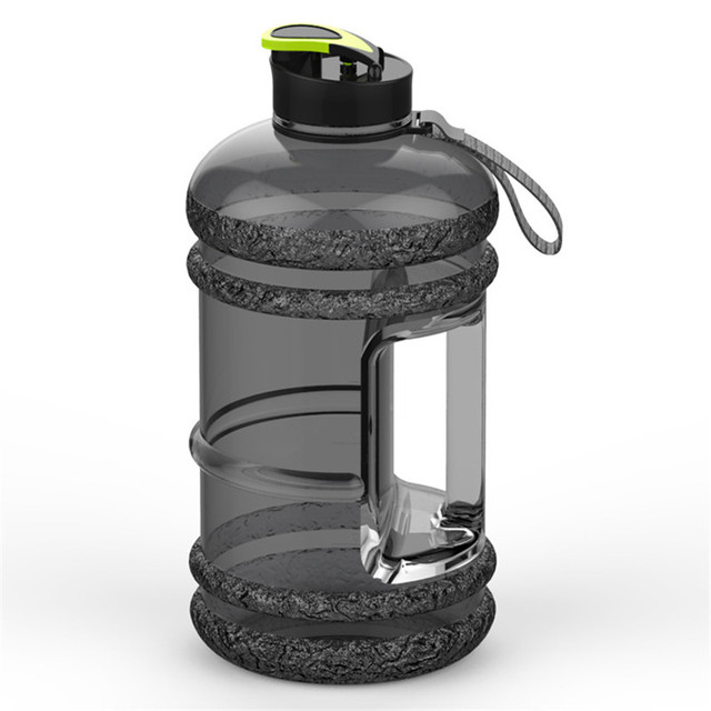 Large Capacity 2.2L Pastic Water Bottles Camping Training Bicycle Drink Water Bottle Outdoor Sports Portable Fitness Kettle 4