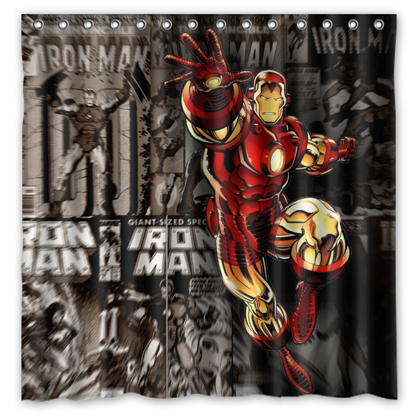 Shower Curtains cool shower curtains for guys : Online Buy Wholesale shower curtains for men from China shower ...