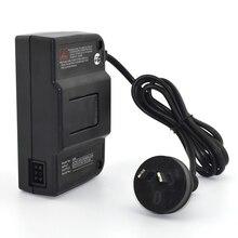 10 pièces ue/US/AU/royaume uni Plug adaptateur secteur voyage adaptateur dalimentation câble convertisseur chargeur mural pour accessoire de jeu N64